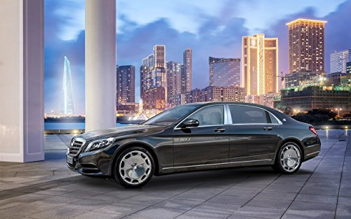 mercedes-maybach-s-class-2015-car-art-poster-print-on-10-mil-archival-satin-paper-black-front-side-s