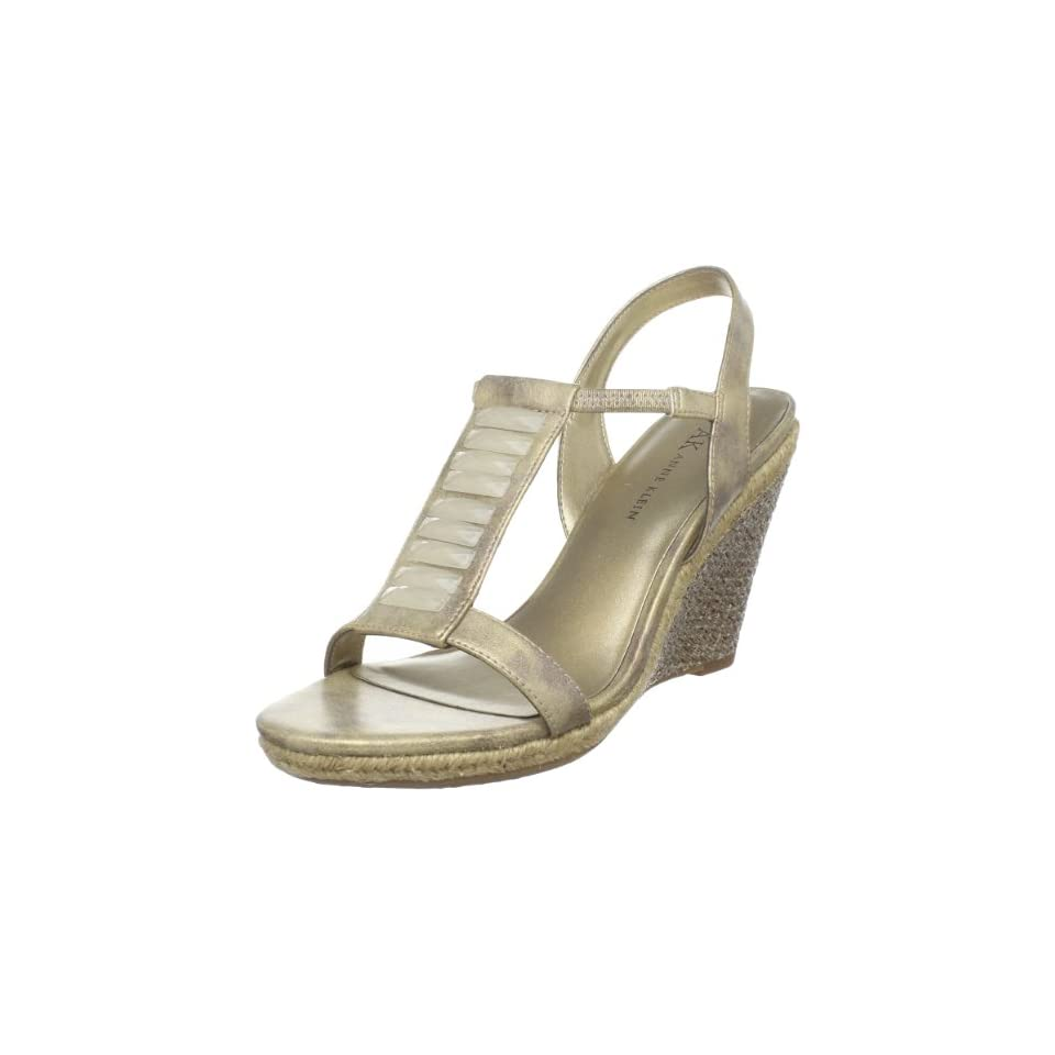 AK Anne Klein Womens Virtruos Wedge Sandal