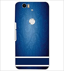 PrintDhaba Pattern D-2200 Back Case Cover for HUAWEI NEXUS 6P (Multi-Coloured)