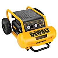 DEWALT D55146 4-1/2-Gallon 200-PSI Hand Carry Compressor with Wheels from DEWALT
