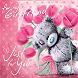 Me To You Tatty Teddy Girlfriend Birthday Card