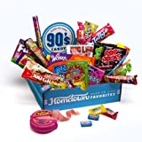 Hometown Favorites 1990s Nostalgic Candy Gift Box, Retro 90s Candy, 3-Pound