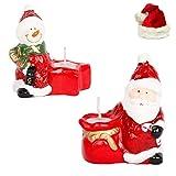 Ghasitaram Gifts Set of 2 Santa Candles