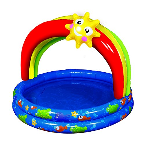 Banzai 38in-Diameter Rainbow Shade Pool
