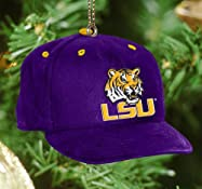 LSU Tigers Baseball Cap Ornament-LSU