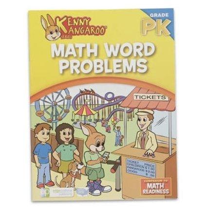 Kenny Kangaroo Series Math Word Problems Grade PK