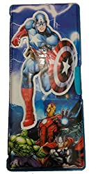 Fancy Embossed Large Pencil Box (Captain America)