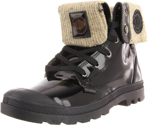 Palladium Men's Baggy Leather Knit Boot