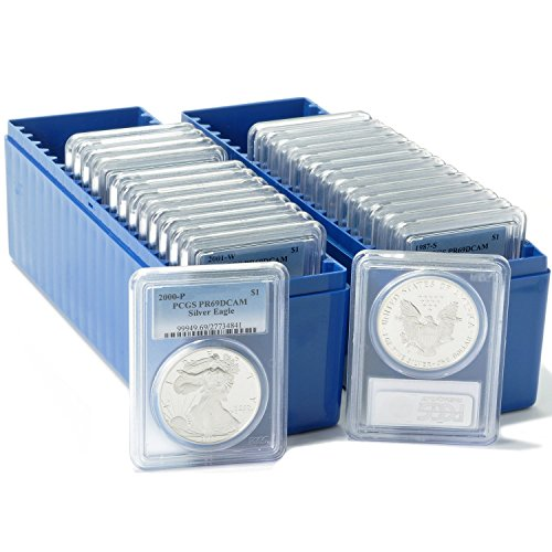 1986 Silver Eagle DCAM PCGS 27-Piece Coin Set PF69