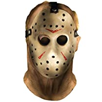 Rubies Costume Co Friday The 13th Jason Voorhees Deluxe Overhead Mask