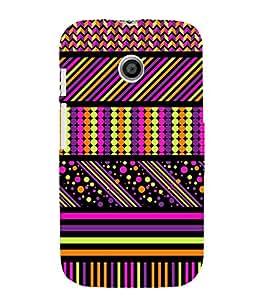 ethnic traditional jaipuri pattern 3D Hard Polycarbonate Designer Back Case Cover for Motorola Moto E XT1021 :: Motorola Moto E (1st Gen)