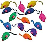 ❖ Rainbow Mice – Bag of 12 – Cat Toy ❖
