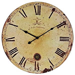 LexMod Vintage Expression Wall Clock