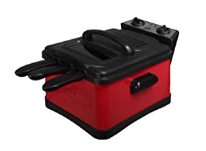 Red Deep Fat Fryer