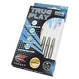 Target Darts True Play Natural Tungsten Steel Tip Darts, 27gm, Style 11