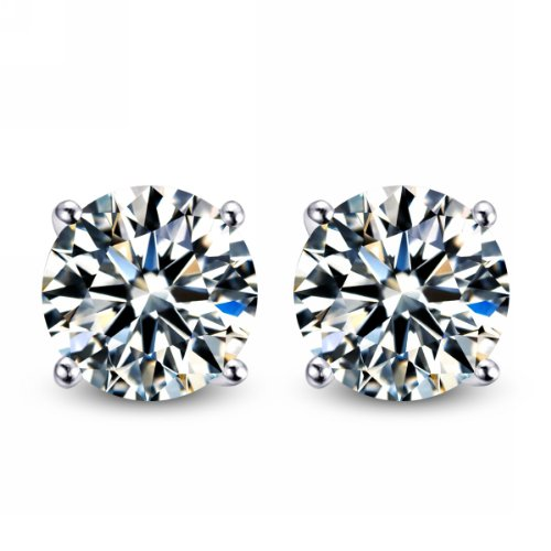 merdia-cubic-zirconia-earring-studs-s925-sterling-silver-4-sprong-studs