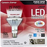 Feit Electric: PAR30 Dimmable LED ~ 75 Watt Replacement Uses 15 Watts