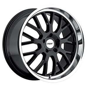 TSW Tremblant Gloss Black Wheel with Machined Lip (18″x9.5″/5x120mm)