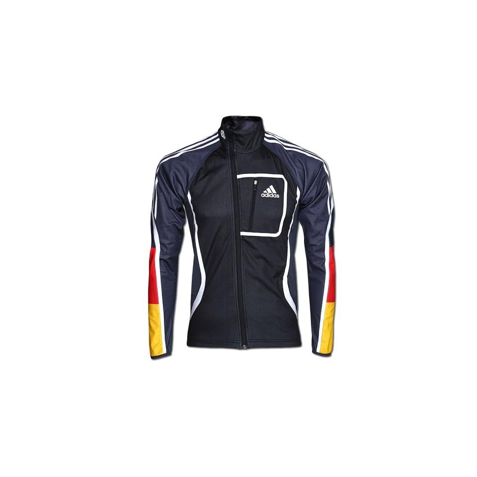 Adidas DSV Jacke ATHLETE JKT CW MEN Gr.8 (L) schwarz grau
