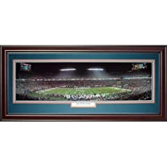 Miami Dolphins (Last Home Game - Dan Marino) Deluxe Framed Panoramic Photo by PalmBeachAutographs.com