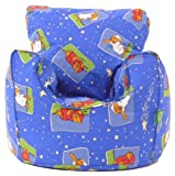 Cotton Winnie The Pooh Sleep Time Bean Bag Arm Chair with Beans