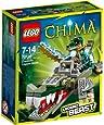 Lego Legends Of Chima - Les Animaux Légendaires - 70126 - Jeu De Construction - Le Croco Légendaire