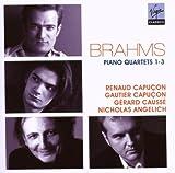 echange, troc  - Brahms : Quatuors pour piano et cordes n°1, 2 et 3
