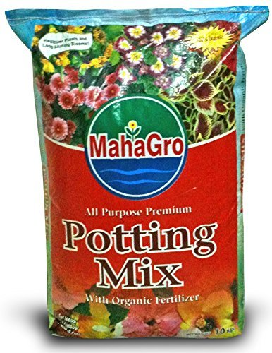 MahaGro All Purpose Premium Potting Mix- With Cocopeat & Organic Fertilizer- 2kg