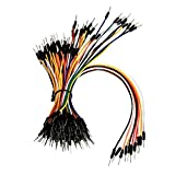 Z&T ® Solderless Flexible Breadboard Jumper Wires M/M 100 pcs