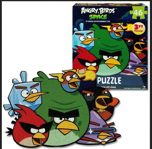 Imagen de Hot Space Angry Birds 46 Pc Floor Puzzle