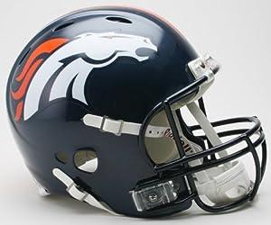 Denver Broncos Riddell Revolution Full Size Authentic NFL Proline Football Helmet