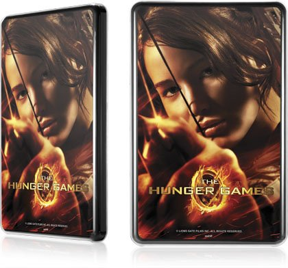 Skinit The Hunger Game -Katniss Bow & Arrow for LeNu Case for Amazon Kindle Fire