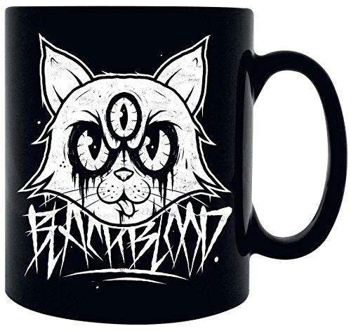 Black Blood Mad Kitty Tazza nero