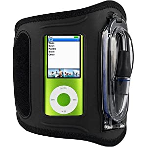 H2O Audio Amphibx Waterproof Armband for iPod nano, Medium MP3 Players and Phones