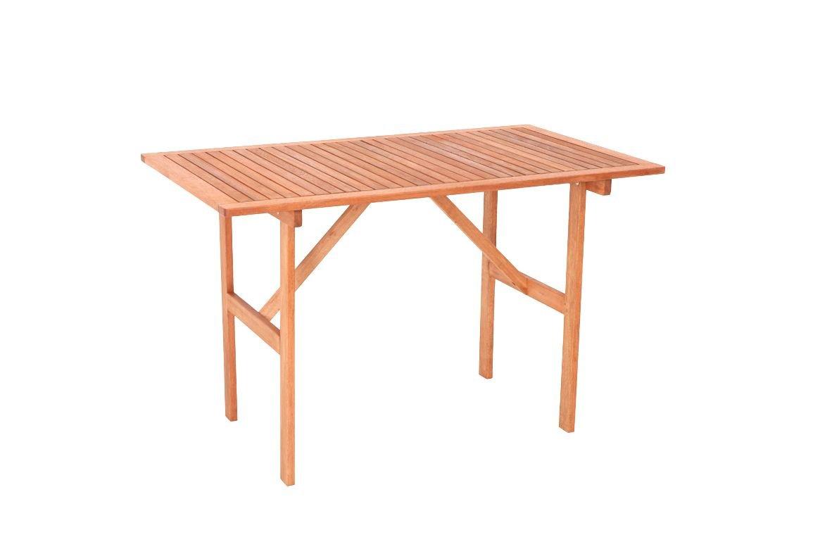 Gartentisch 70x120cm, Eukaylptus geölt, FSC®-zertifiziert