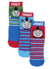3 Pairs of Thomas & Friends© Striped Socks