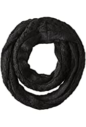 Dearfoams Women's Cable-Knit Infinity Scarf