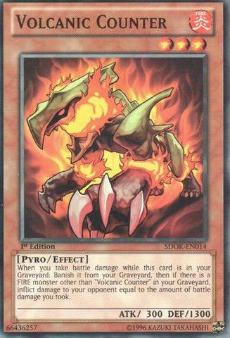 Yu-Gi-Oh! - Volcanic Counter (SDOK-EN014) - Structure Deck: Onslaught of the ...