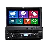 TUVVA KSD7843B - Reproductor para coche con pantalla t�ctil 7 '' (Reproductor DVD / CD / USB / AUX-IN / MP4 / MP3, r�dio, RDS Bluetooth Streaming, Man