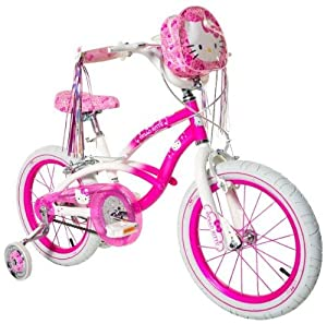 Hello Kitty Girl's Bike, Pink/White, 16-Inch