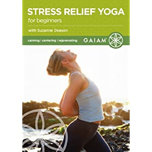 Stress relief yoga for beginners dvd import