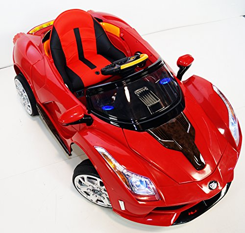 incredible 12v ferrari style battery operated ride on