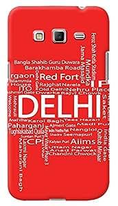 Kasemantra My Delhi Case For Samsung Galaxy Grand Prime