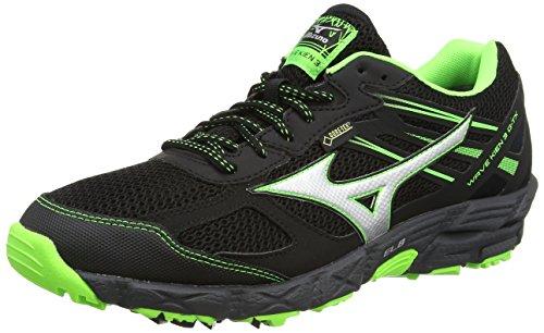 mizuno-wave-kien-g-tx-scarpe-da-corsa-uomo-black-black-silver-green-gecko-41