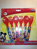 Mickey's Clubhouse Forks and Spoons