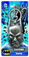 DC Batman Head Pewter Key Ring