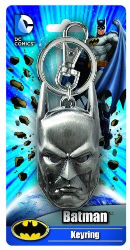 DC Batman Head Pewter Key Ring - 1