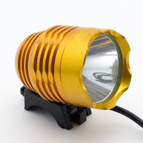 Welltop®Cree Xm-L T6 Led Waterproof Golden 3 Modes Bicycle Light Torch Headlamp Light Super Bright Cree T6 Led Bike Lamp Headlight+Free Welltop® Corkscrew