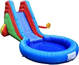 Maribelle Inflatable Bouncy Castle Slide and Splash with Constant Airflow System