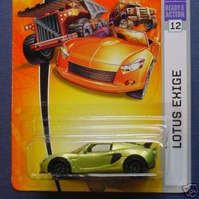 Matchbox 2007 1 64 scale lime green lotus exige die cast car 12